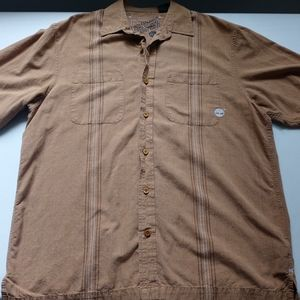 Mens Timberland button down shirt